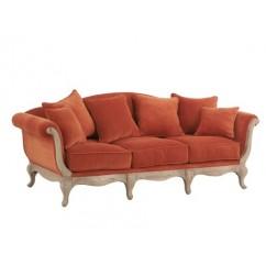 Canapé pompadour en tissu – Maison d'un rêve