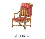 The Marie Antoinette style armchair is just one type available on the site – the Regency style is also popular